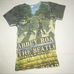The Beatles Abbey Road Tee Size Small